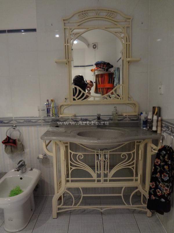 Мебель для ванной комнаты, Ванное зеркало, Подставка под раковину