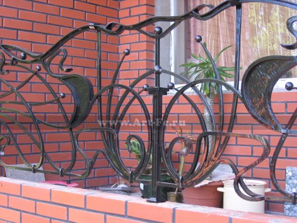 Кованый балкон по фото ковки